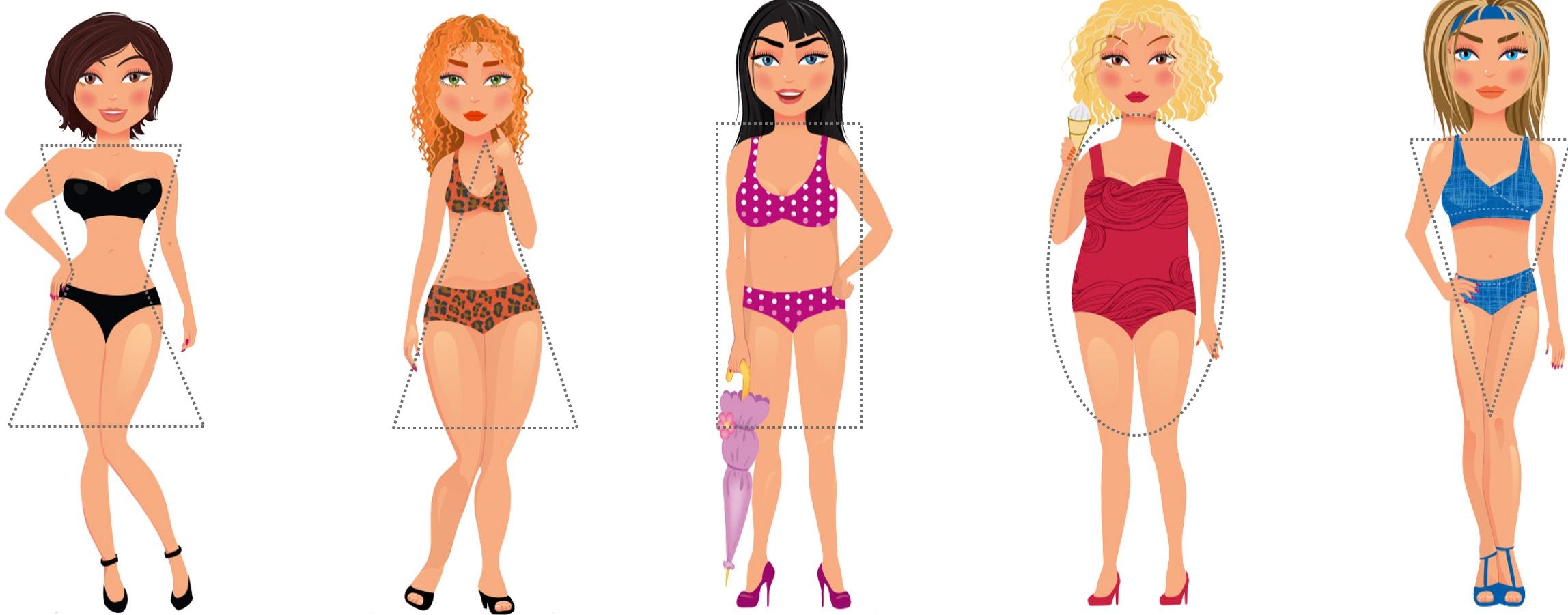 biotipos femeninos